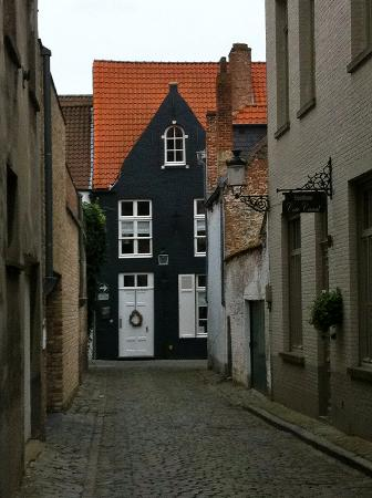 Number 11 Exclusive Guesthouse: The cobblestone street leading to Number 11.
