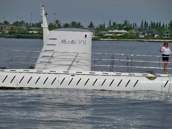 Atlantis Submarines Kona: Atlantis