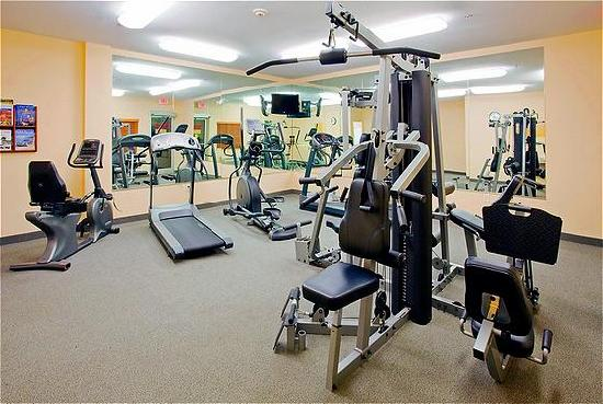 Candlewood Suites Rocky Mount: Large Full Fitness Center