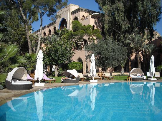 Es Saadi Marrakech Resort - Palace: lagon