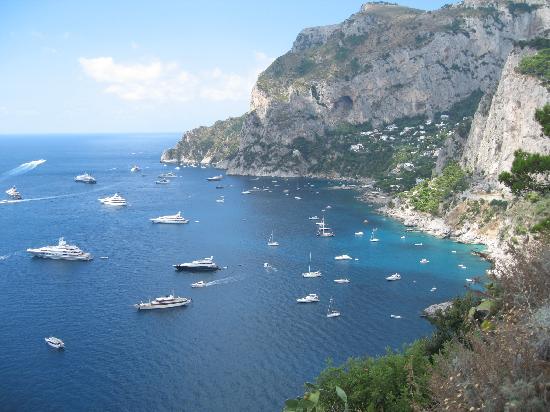 Capri, Italia: da punta tragara