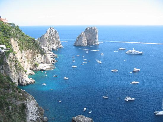 Île de Capri, Italie: dai giardini di Augusto