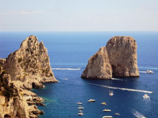 Capri, Italia: Faraglioni