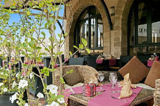 Le Chrysalis : terrasse