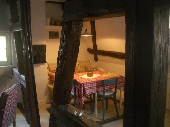 Le Bastion de Riquewihr : Le coin repas de la Maguelonne