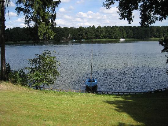 Landhaus Himmelpfort am See : Blick vom Landhaus auf den Haussee