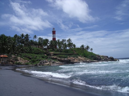 Kovalam, Indien: Lighthouse Beach