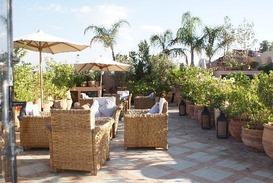 Dar Les Cigognes : Roof Terrace