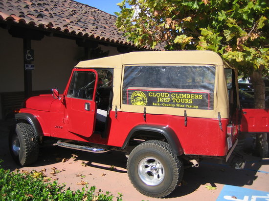 Cloud Climbers Jeep Tours: Pic of our Jeep