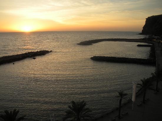 Hotel Calheta Beach : fréquent magnifique couché de soleil
