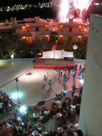 Pajara, Spanien: Fiesta, batucada, fuegos artificiales