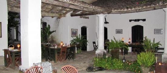 Hacienda Jalisco: The Hacienda dining area at night
