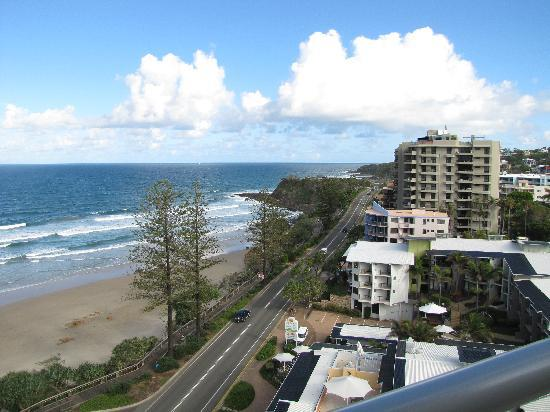 Coolum Caprice Luxury Holiday Apartments: children's park just behind the surf club