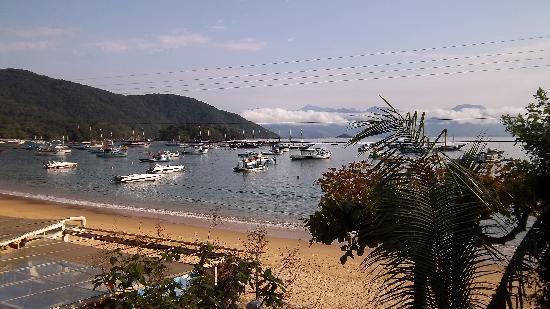 Pousada Manaca Inn: Ausblick vom Balkon