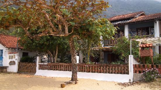 Pousada Manaca Inn: Pousada Manaca vom Strand aus