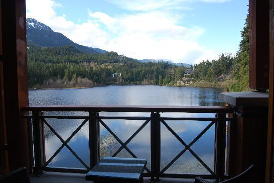 Nita Lake Lodge : View from our room