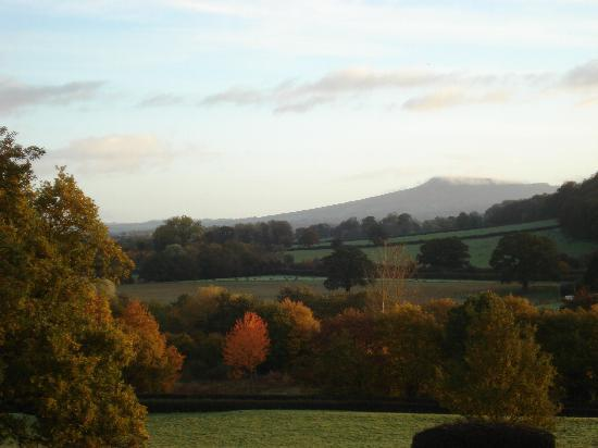 Overton Grange Country Hotel: Autumn colours. View from the hotel.
