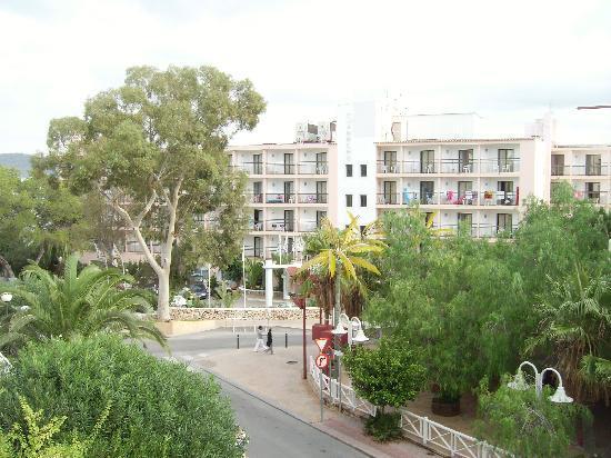view fron balcony