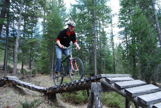 Radium Hot Springs, Canadá: Bike Park