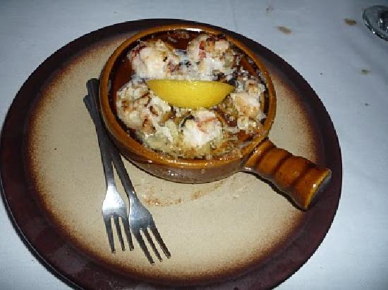 Tapas Garden and Wine Bar: Lobster Escargot