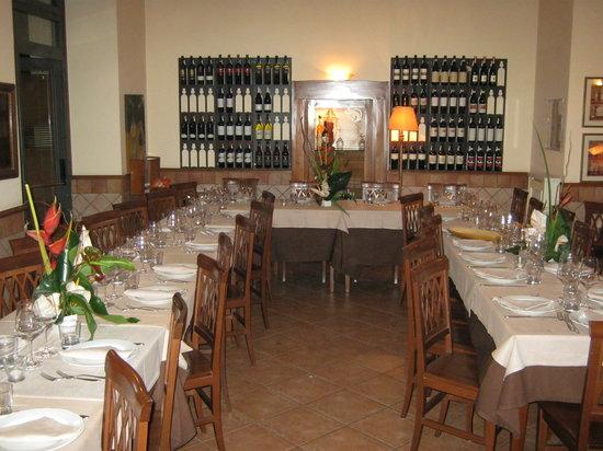 La Piccola Toscana : la nostra sala