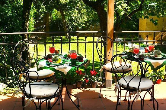 SanGaggio House: Terrazza sul giardino