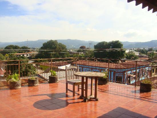 Hotel Los Arcos: Roof Terrace