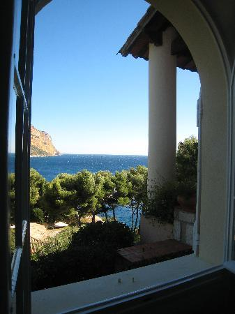 L'escale: View from our room