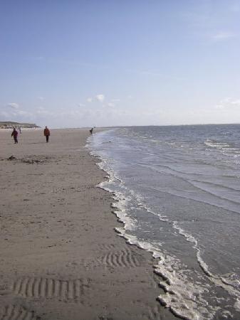 Langeoog, Alemania: der herrlich lange Sandstrand
