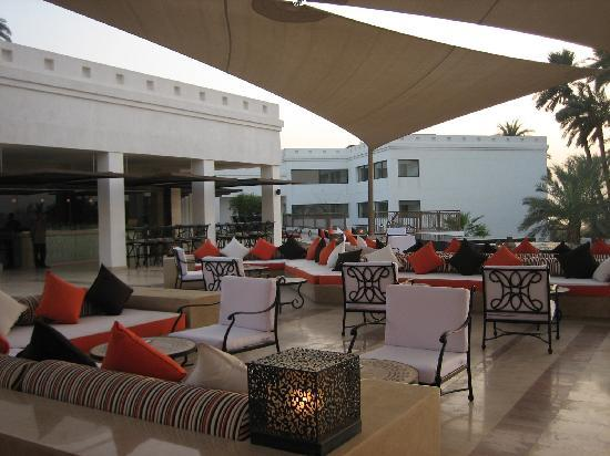 Hilton Luxor Resort & Spa: Patio