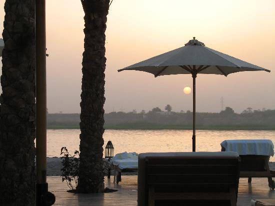 Hilton Luxor Resort & Spa: Sunset