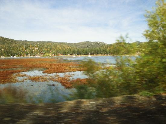 Big Bear Region, Californien: driving around