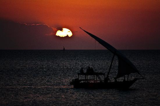 Royal Zanzibar Beach Resort: Tramonto