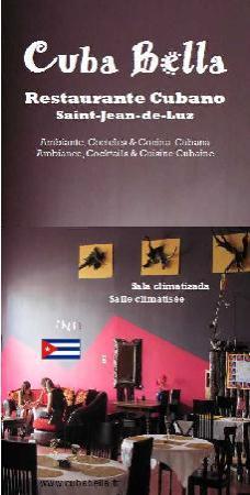 Txik Txak : Cuba Bella - Restaurant Cubain