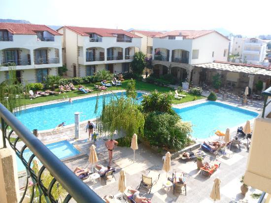Villas Duc-Rhodes: Hotellet sett från 3e våningen