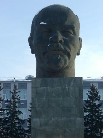 Ulan-Ude, Russland: big Lenin head, Ulan Ude