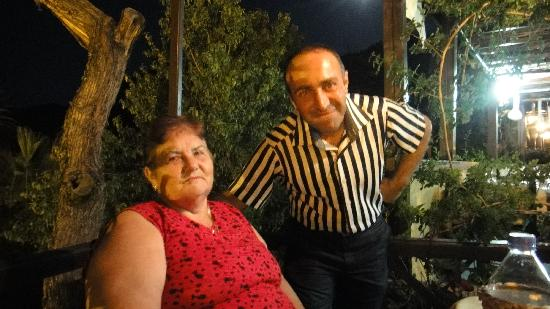 Abbey Bell Tower Restaurant : Aycan (Ali Gaco) and Mrs Ramsey