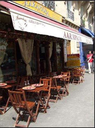 Aarapana: devanture restaurant