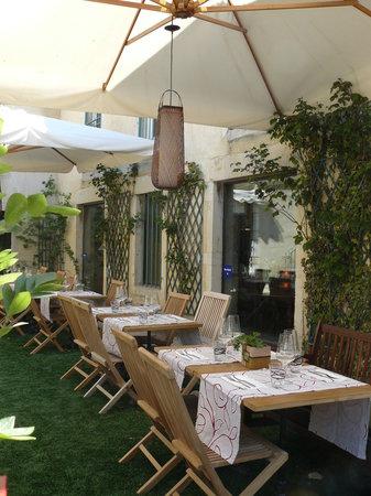 Arome d'Italie: giardino servizio esterno