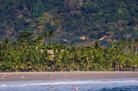 Canciones del Mar Boutique Hotel: Our hotel from the Ocean