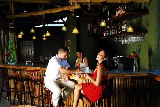 Canciones del Mar Boutique Hotel: Our bar