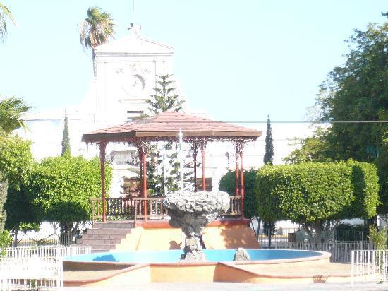 La Paz, Mexiko: kiosco frente a la catedral