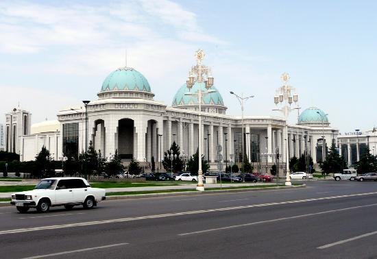 Prachtbauten in Ashgabat
