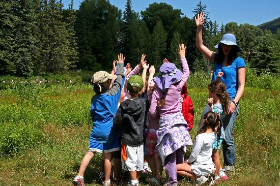 Aspen, CO: Kids summer programs explore the nature center.