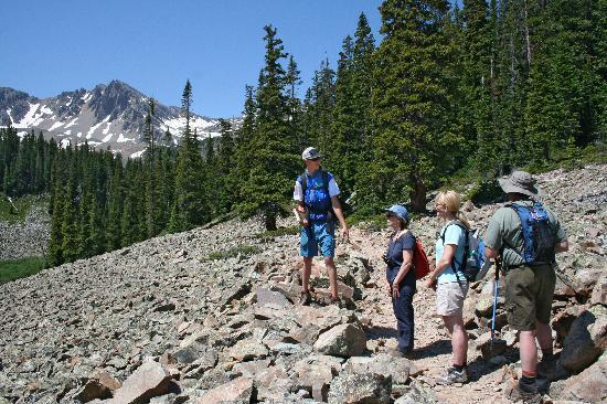 Aspen, CO: Guided hikes are offered all summer long.