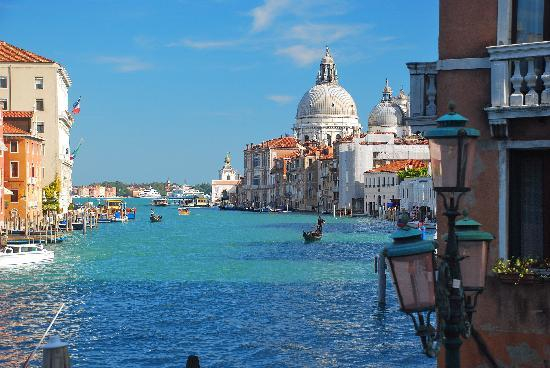 Rooms: Venice Grand Canal From The Academia Bridge