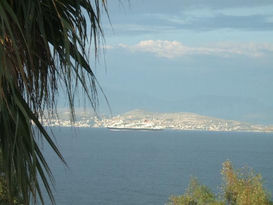 Kassiopi Bay: view from balcony