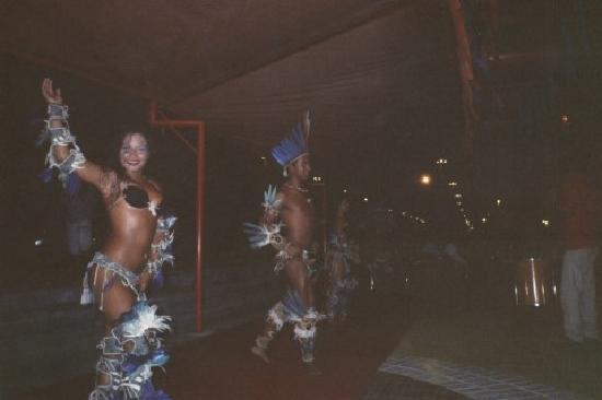 Amazon festival dancers in Manaus, Brazil
