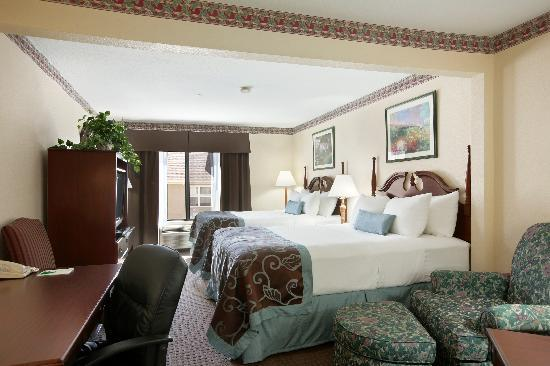 Wingate by Wyndham Indianapolis Northwest : 2 Queen Bedroom