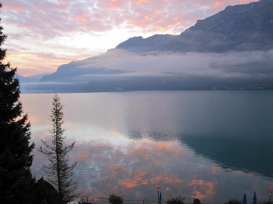 Hotel Seeburg: Nice Sunrise